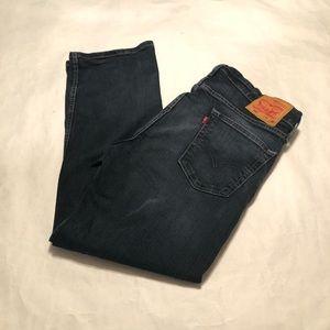 Levi's 559 Men's Dark Wash Denim Jeans Sz 36 x 32